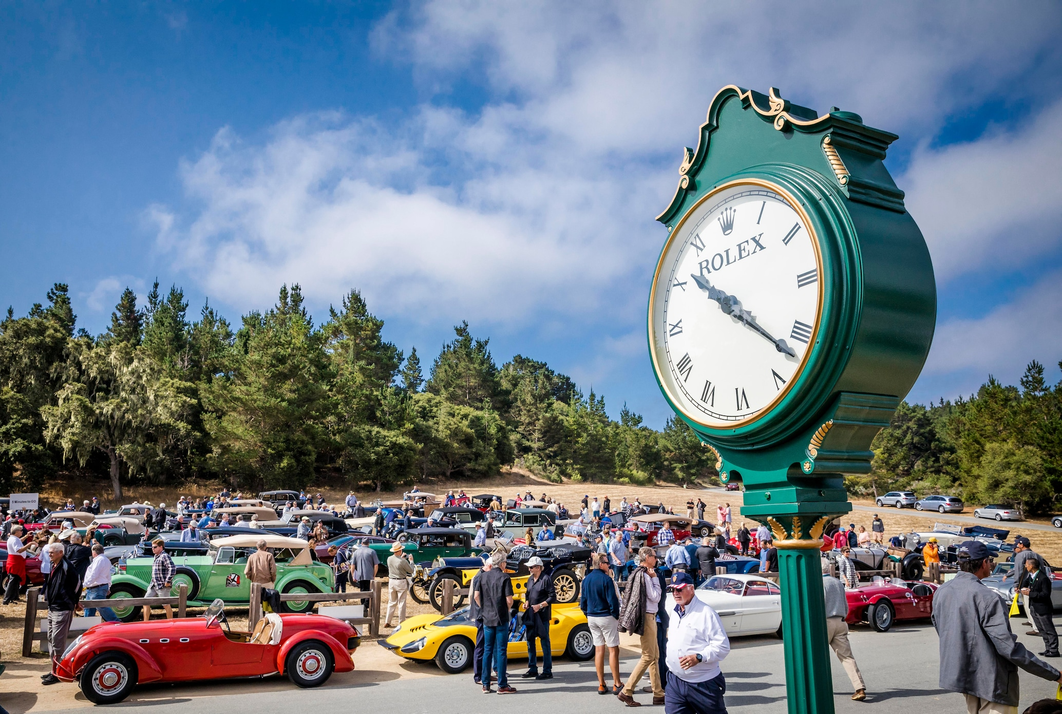 Rolex is the Official Timepiece of The Quail, A Motorsports Gathering
