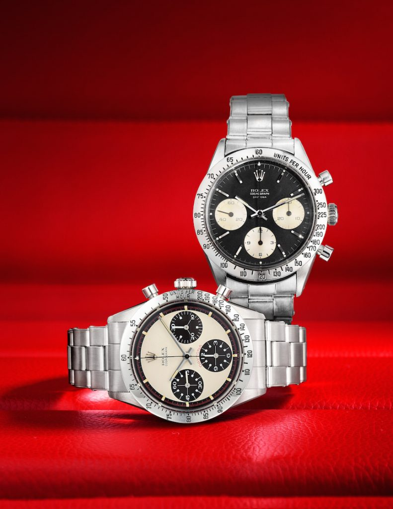 "Rolex Daytona ""Paul Newman"" watch sells at Fortuna auction."
