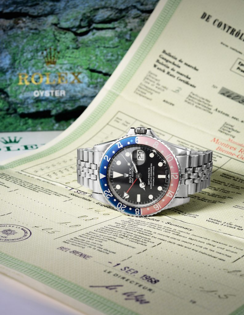 Rolex Pepsi GMT sold at Fortuna summer auction for $21,250.