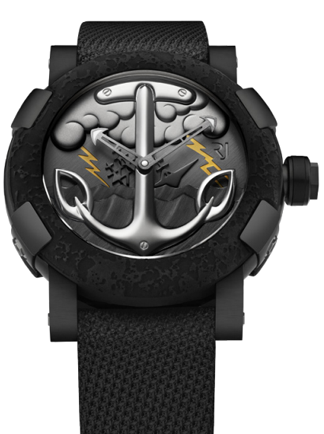 The Romain Jerome Tattoo DNA pays tribute to sailors.