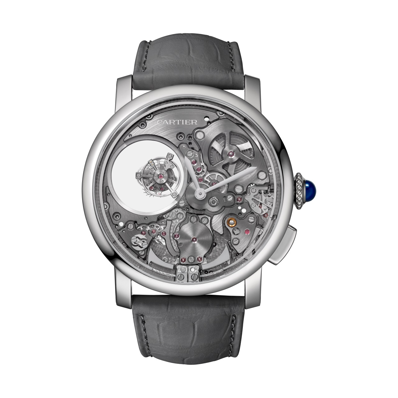 Rotonde de Cartier Minute Repeater Mysterious Double Tourbillon Calibre 9407 MC