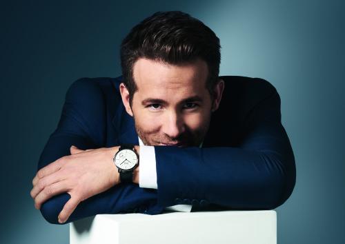 Ryan Reynolds, Piaget brand ambassador.
