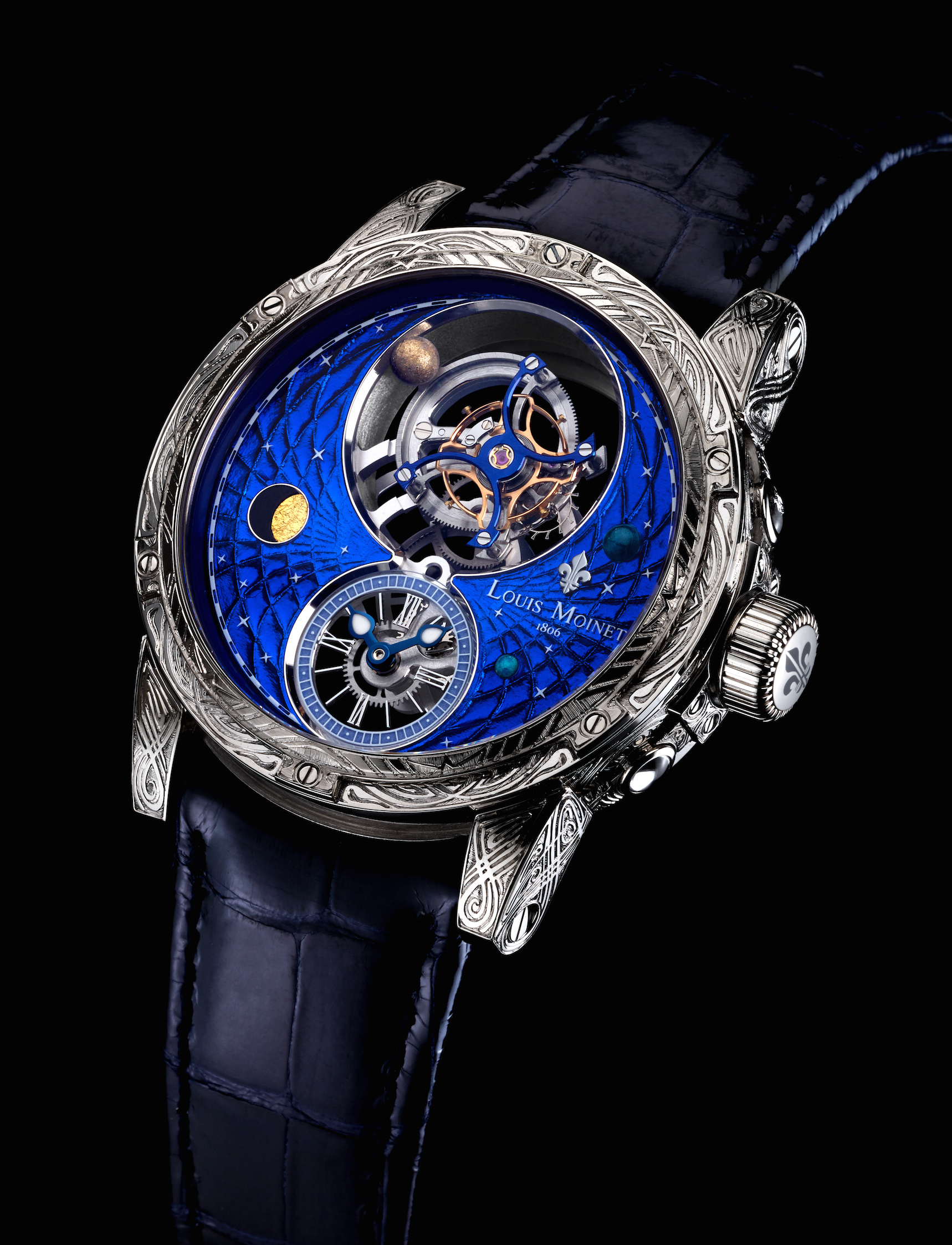 Louis Moinet Space Mystery Watch is a world first