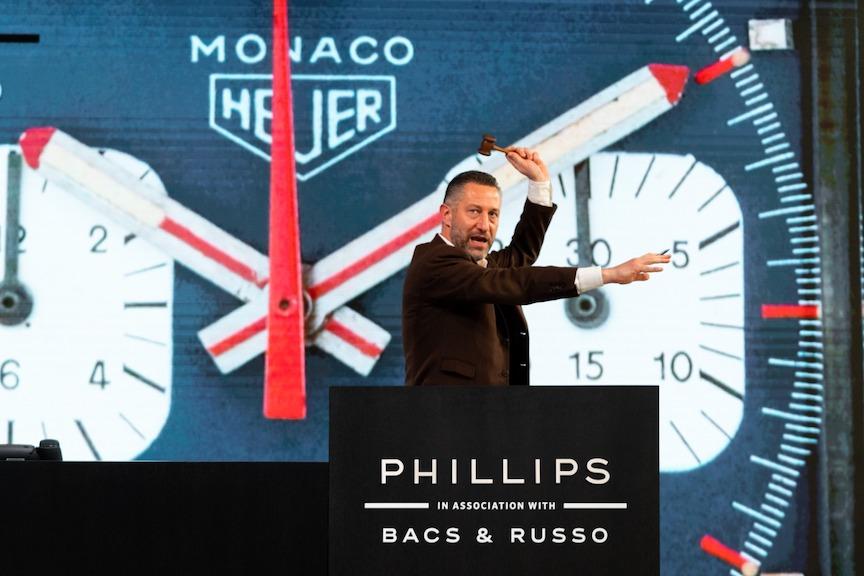 Aurel Bacs, Phillips Auction, Steve McQueen,