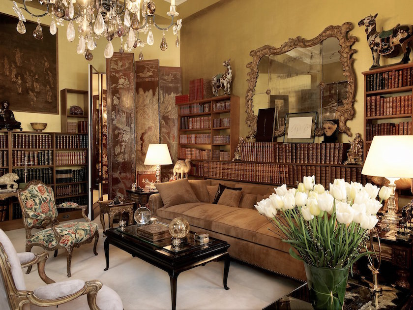 Coco Chanel was inspired by her surroundings in her private salon