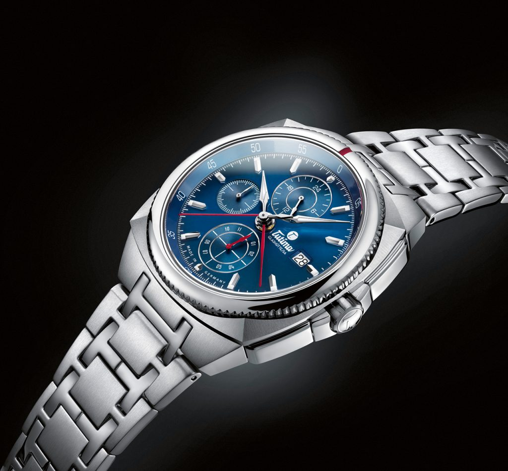 Tutima Saxon One Royal Blue Chronograph