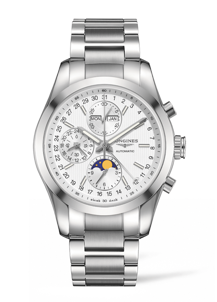 Stainless Steel Conquest Classic Moonphase will be awarded to the winning jockey of the Kentucky Derby.