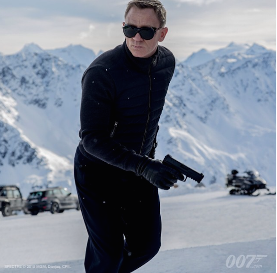 Daniel Craig as James Bond (c: Instagram)