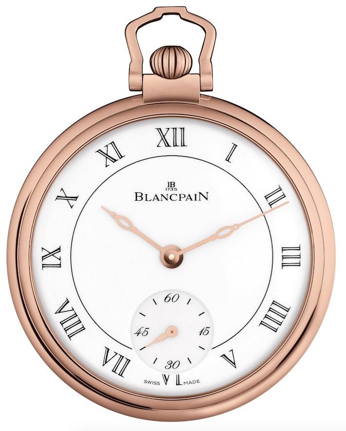 Blancpain pocket watch