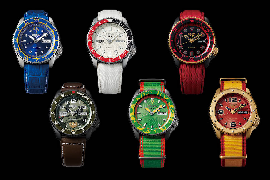 Street Fighter V Seiko 5 Sports Limited Edition