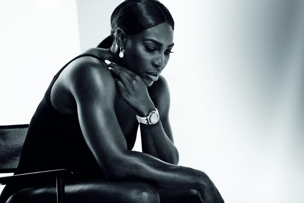 Serena Williams wearing Audemars Piguet