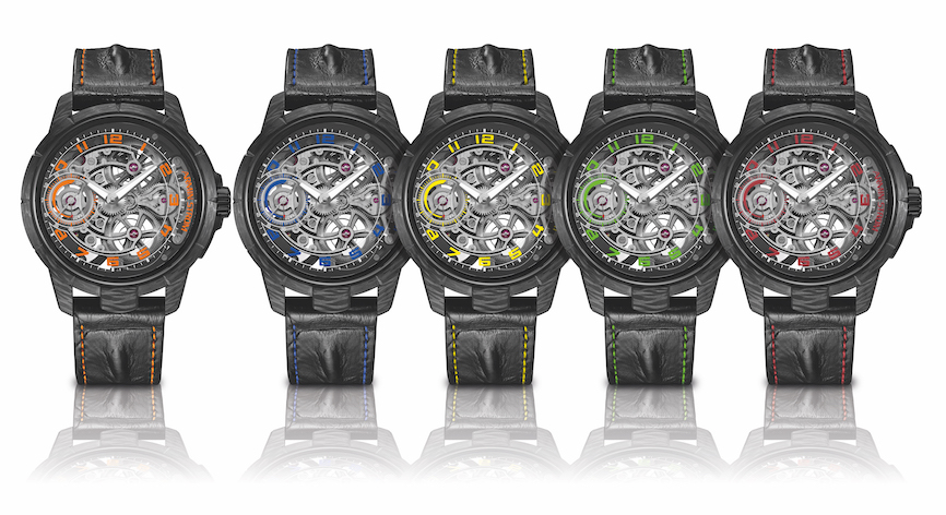 Armin Strom Skeleton Carbon watches