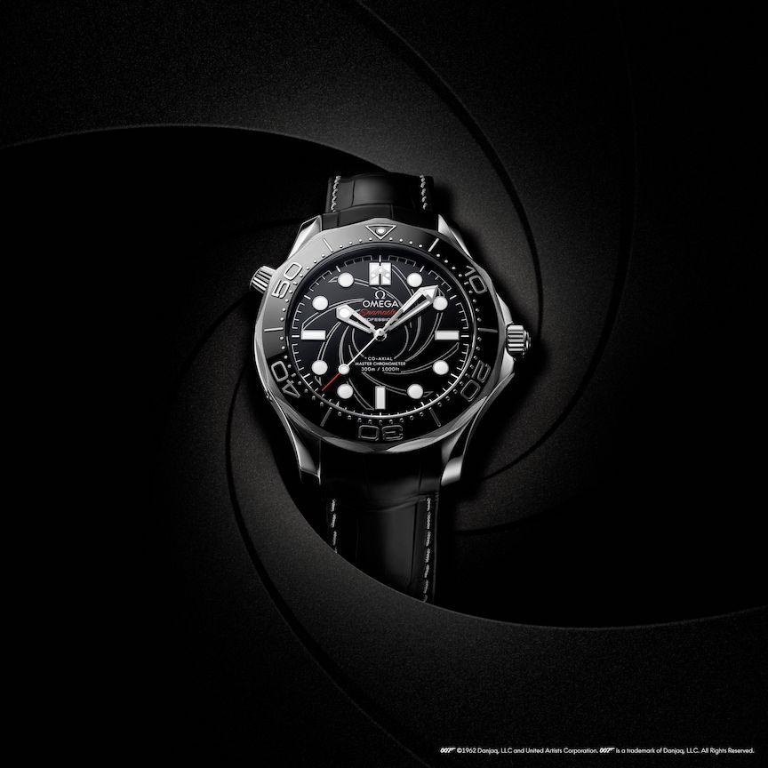 james Bond's Omega Seamaster watch
