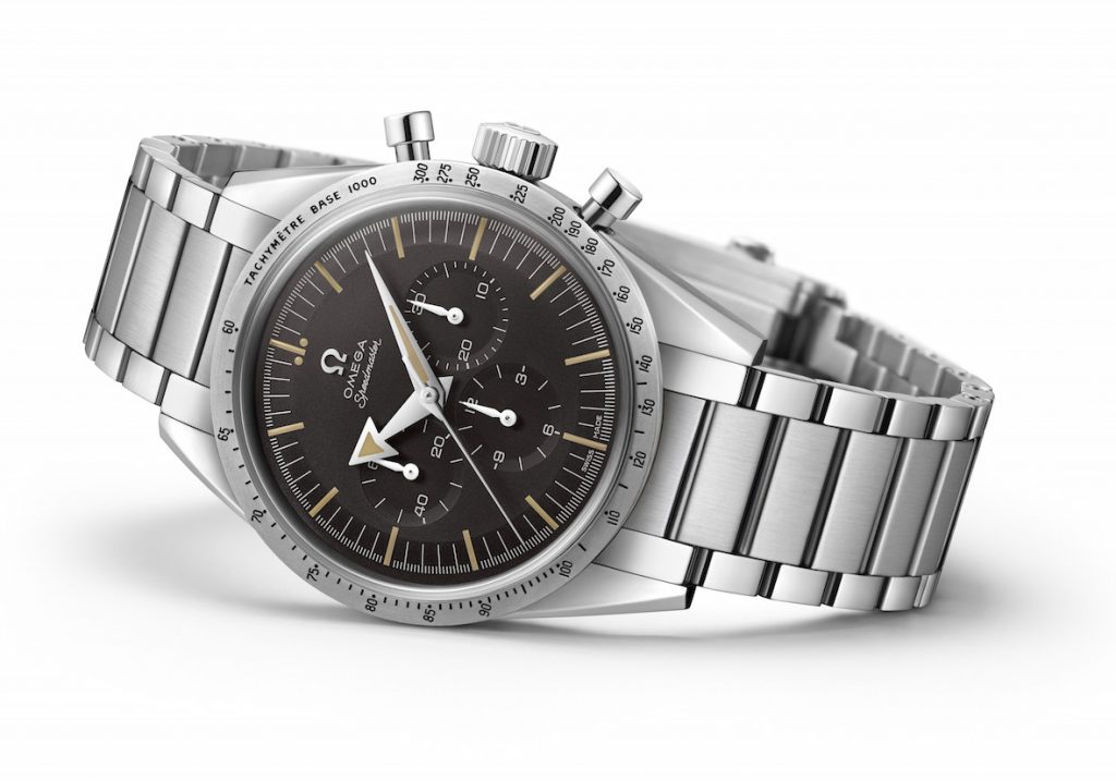 The new Omega 1957 Speedmaster is a near-consistent replica of the original.