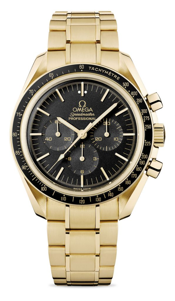 Omega Speedmaster Moonwatch, as seen on Clooney's wrist in Money Monster