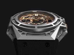 SpidoLite II Titanium Gold US Limited US Angle