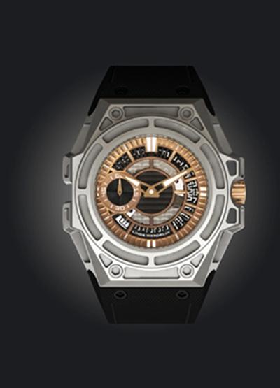 Linde Werdelin SpidoLite II Titanium Gold North America watch