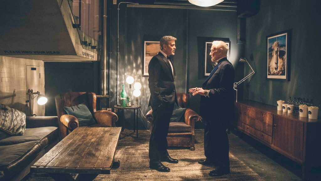 "George Clooney and Buzz Aldrin star in Omega movie, ""Starment"""