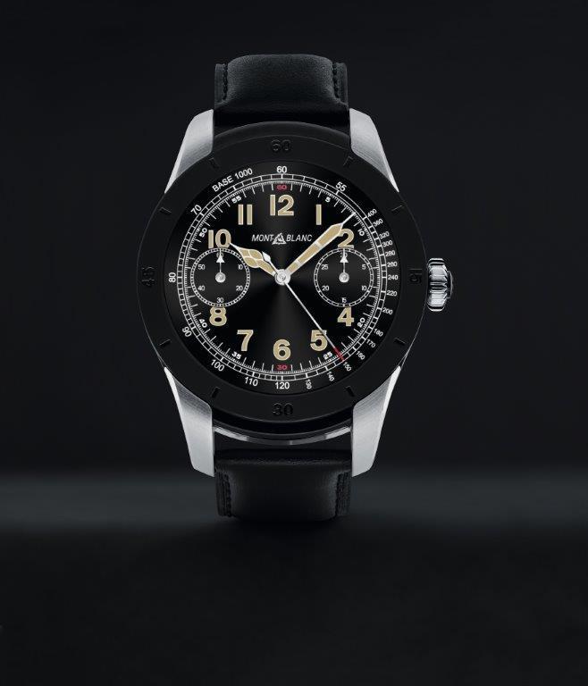 Montblanc Summit smart watch.