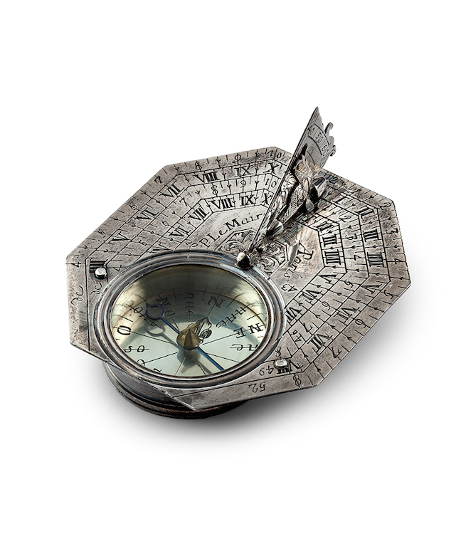 Early sundials will be part of the Mastery of Time exhibit being held at the Biennale 2016.
