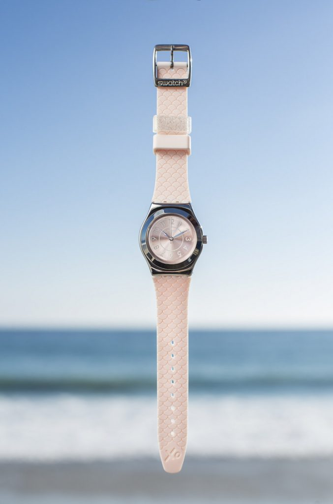 The new Swatch by Coco Ho watch will retail for $