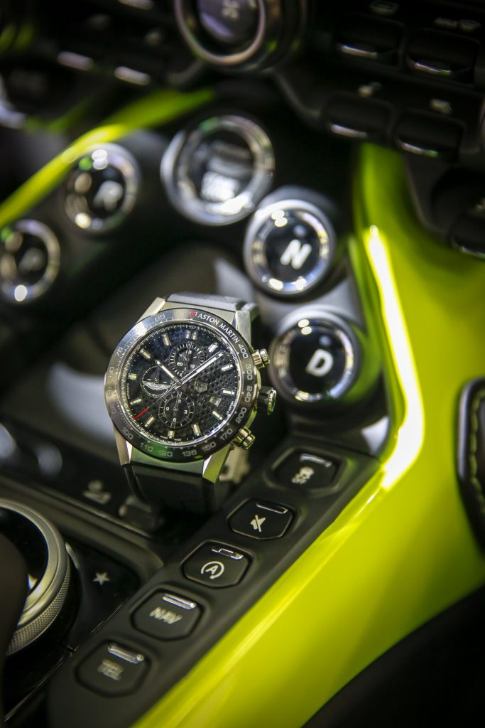 TAG Heuer Carrera Heuer 01 Aston Martin watch