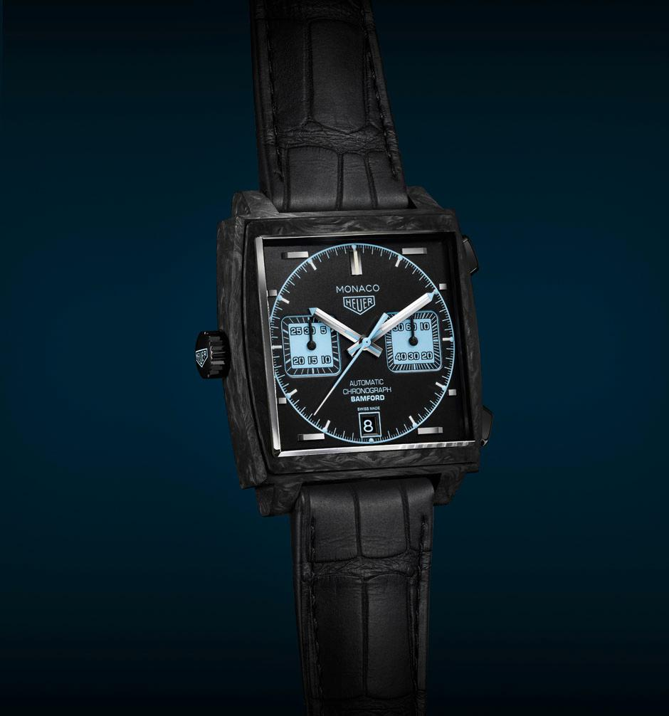 TAG Heuer Monaco Bamford watch