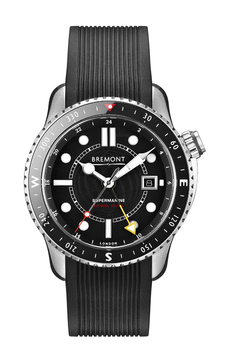Bremont Terra Nova titanium chronometer.