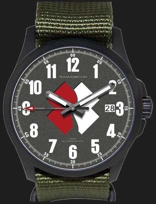 Minuteman Team Rubicon watch offers $60 of each watch sale to Team Rubicon.