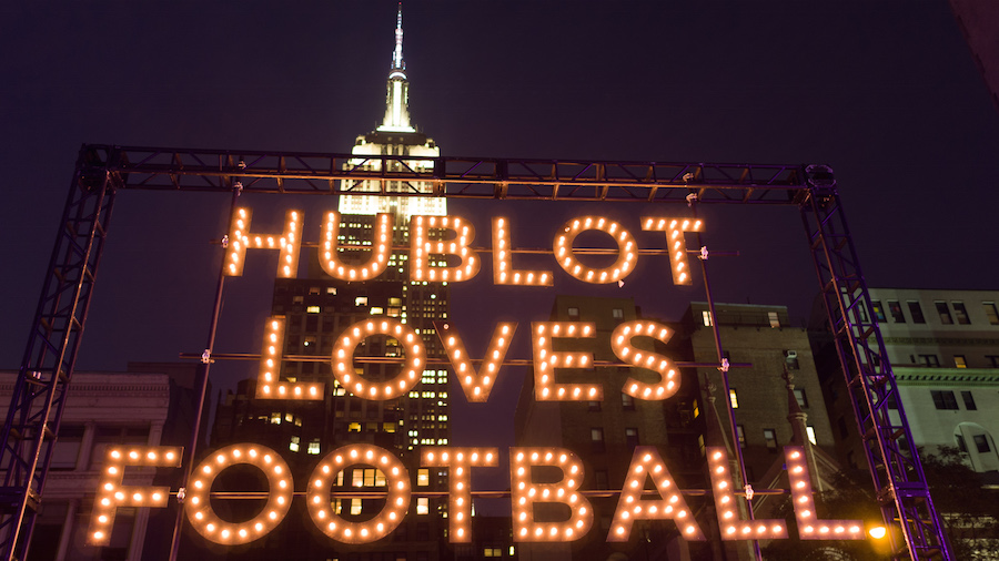 Hublot & the New York Giants Present : a Luxury Manhattan Tailgate (BFA Air)