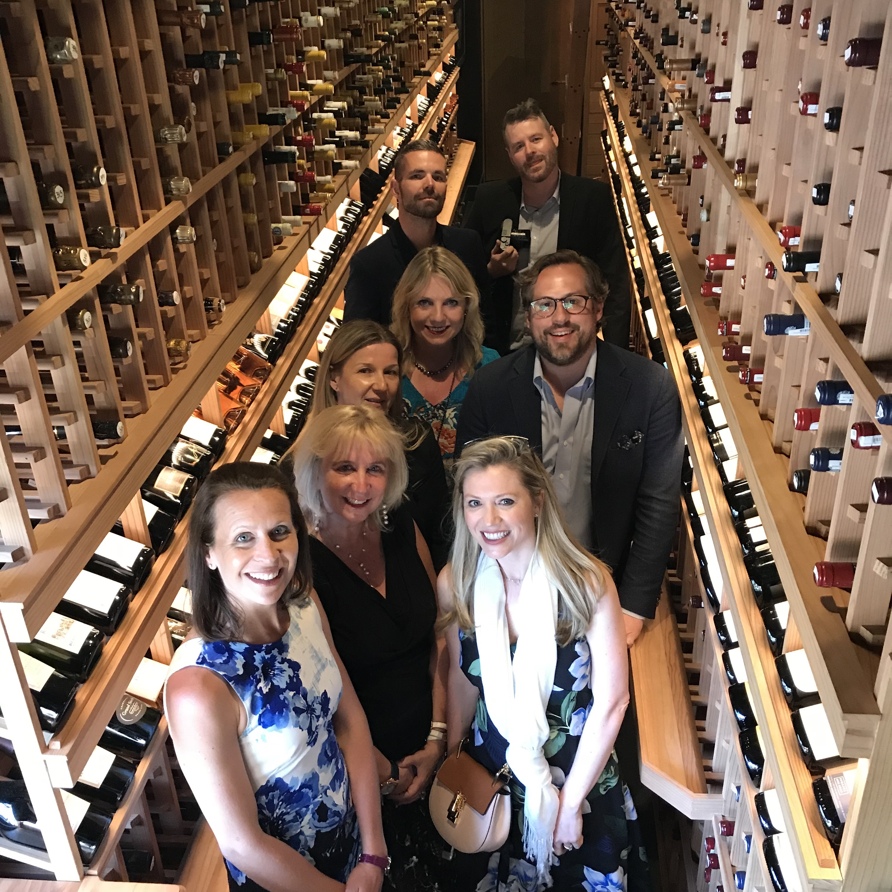 The select journalists who joined Vacheron Constantin in Napa (oh that wine!)
