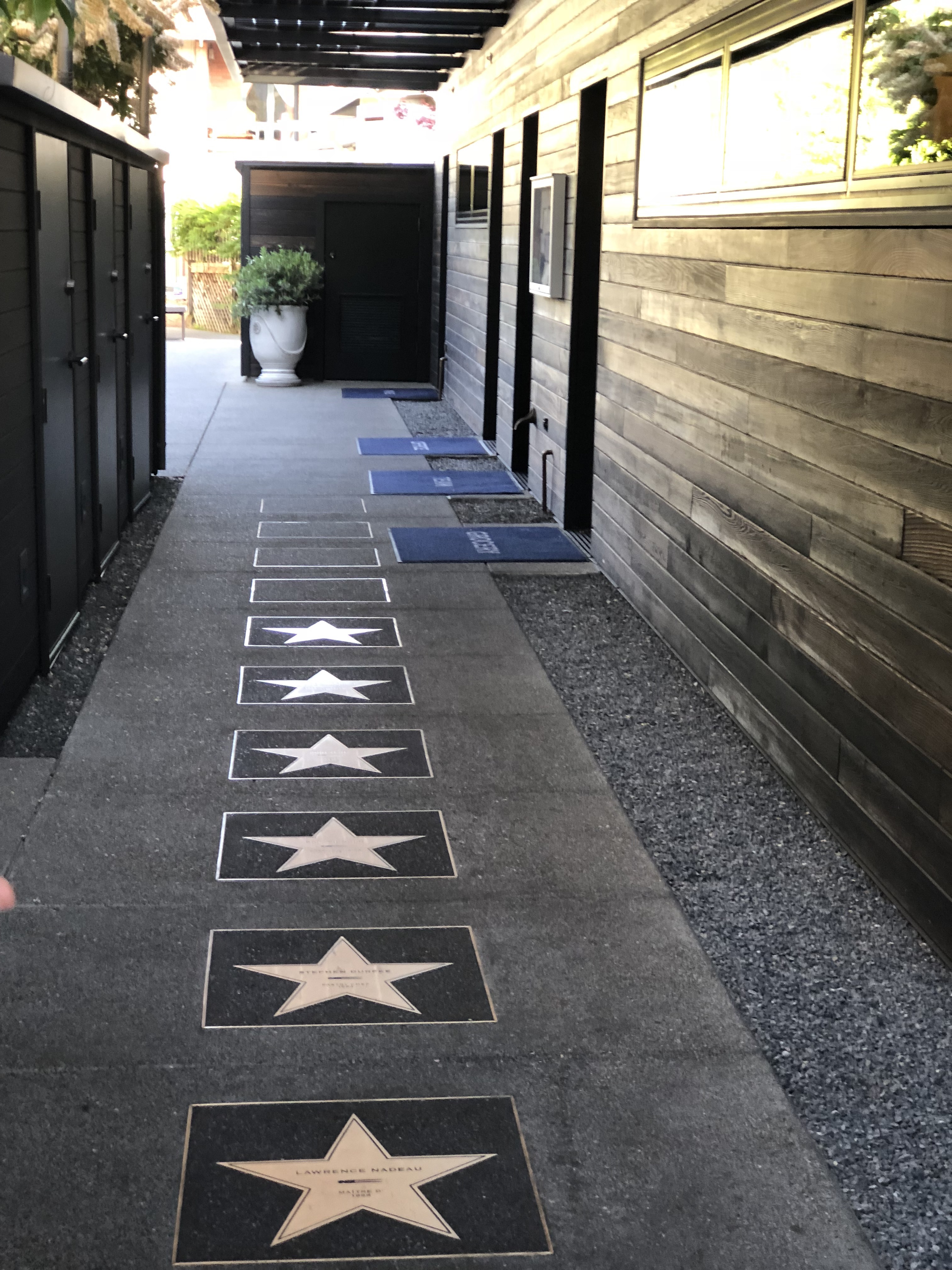 The stars at the French Laundry