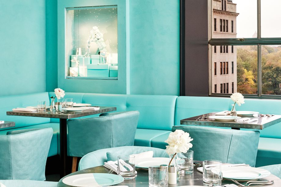 Tiffany & Co. Blue Box Cafe for breakfast or lunch.