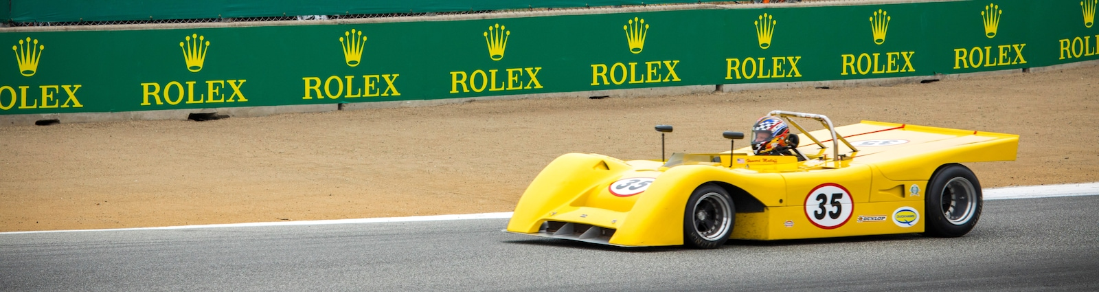 This year's Rolex Monterety Motorsports Reunion celebrated the 60th anniversary of Mazda Raceway Laguna Seca