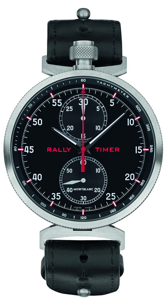 Montblanc, with its TimeWalker watches, has become the Official Timing Partner of Goodwood Festival of Speed.