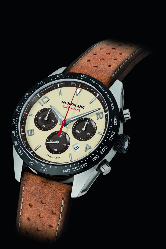 Just 1500 pieces of the Montblanc Timewalker Manufacture Chronograph Limited Edition Cappuccino will be made.