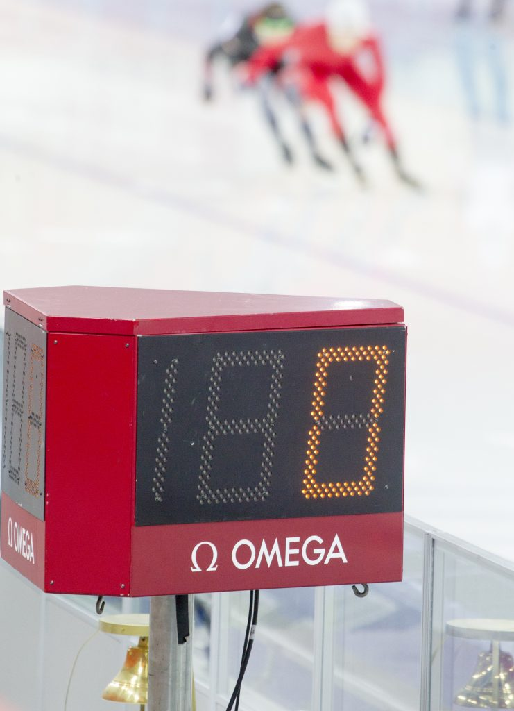 Omega had more than 300 timekeepers at the Winter Olympic Games.