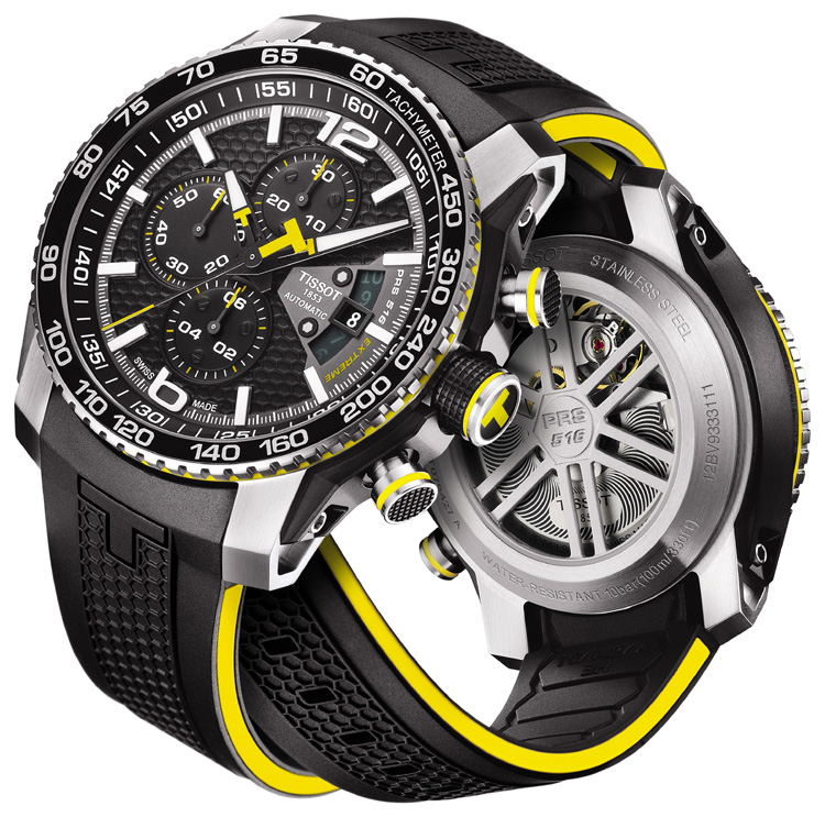 Tissot's new PRS 516 Extreme is race inspired.