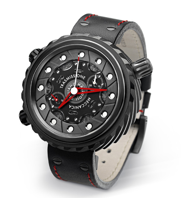 it is offered in steel or gunmetal PVD for $7,700.