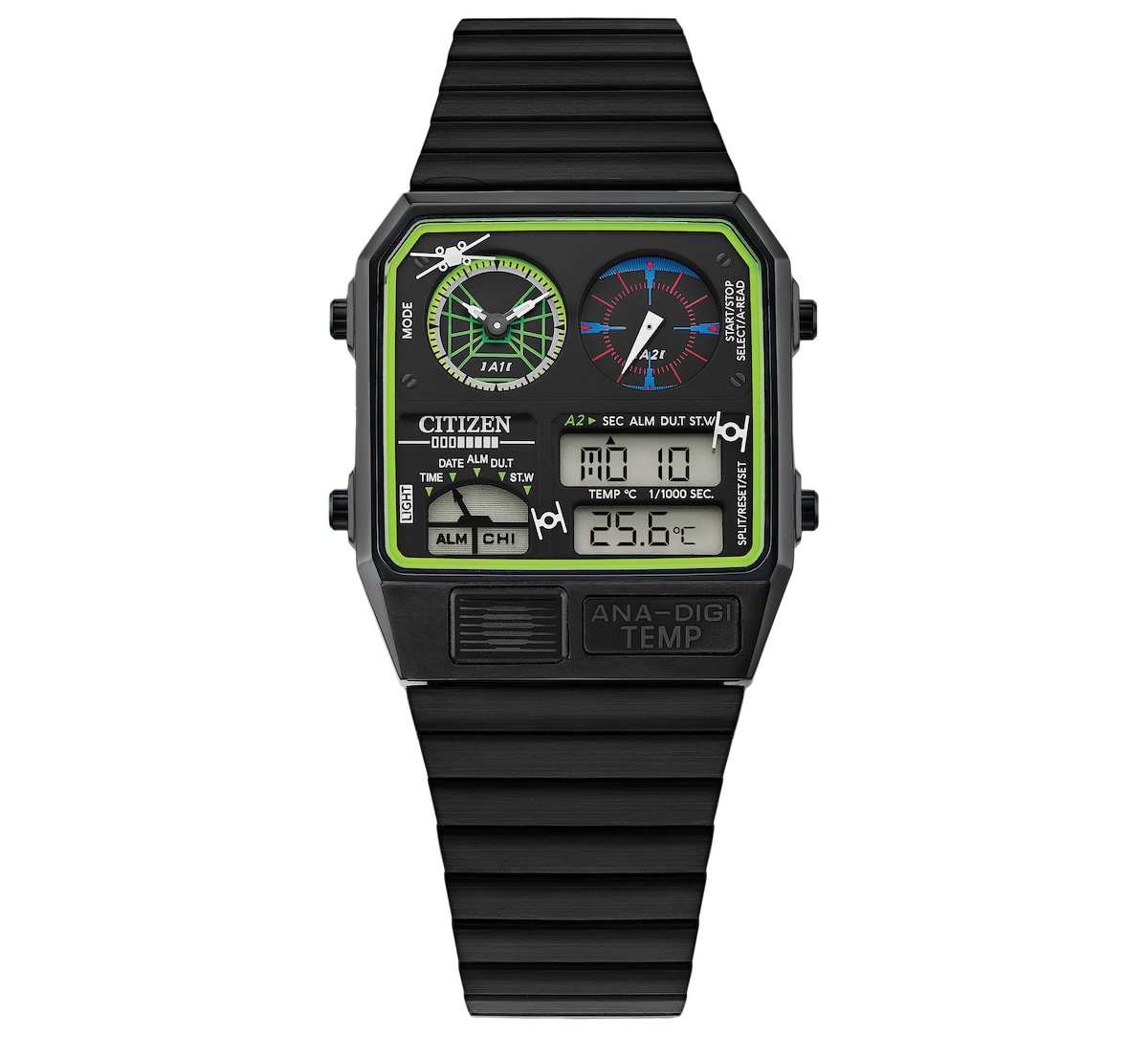 Trench Run Ana-Digi watch by Citizen honors Star Wars characters.