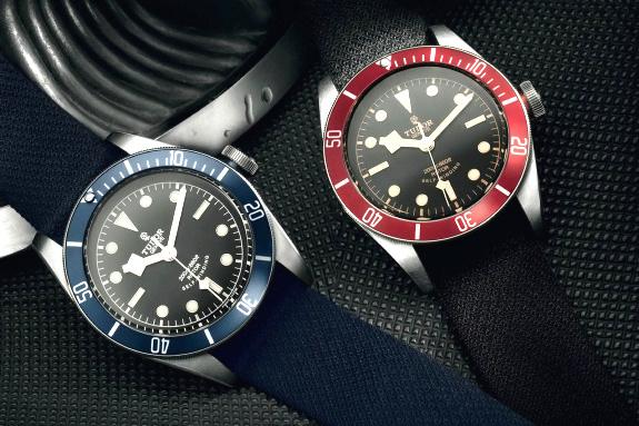 Tudor Heritage Black Bay Blue, Red