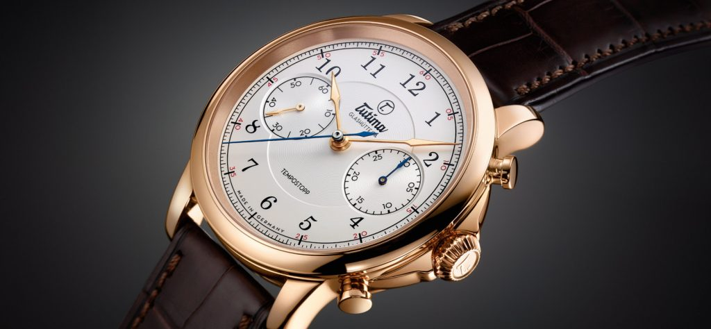 Tutima Tempostopp in-house-made chronograph watch