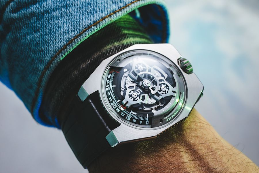 Urwerk UR-100 SpaceTime watch