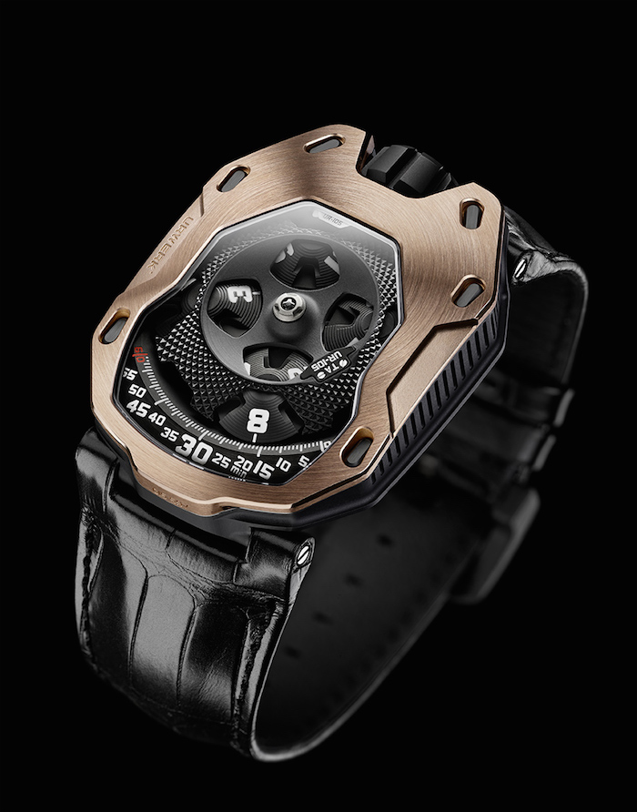 The most expensive version is crafted in rose gold and black, and sells for $66,000