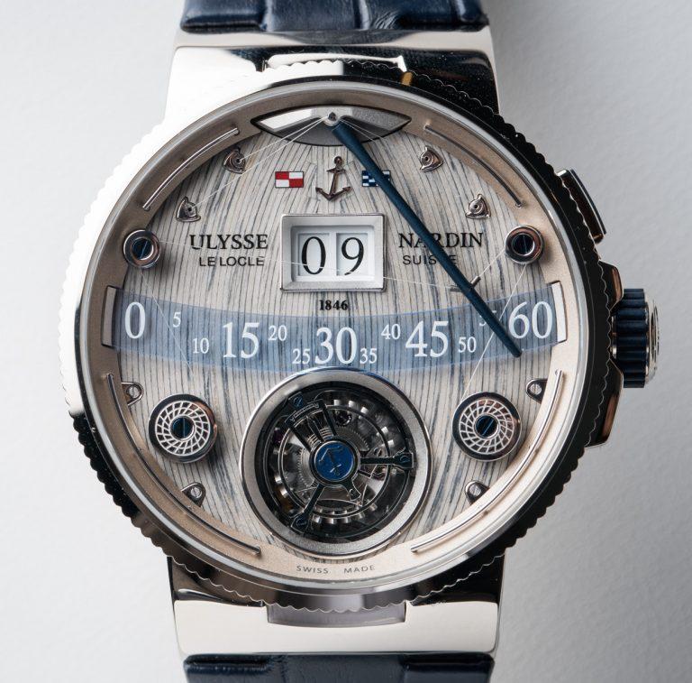 Ulysse Nardin Grand Deck Tourbillon watch