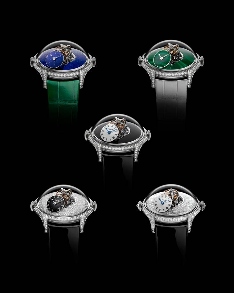 Variations of the MB&F LM FlyingT