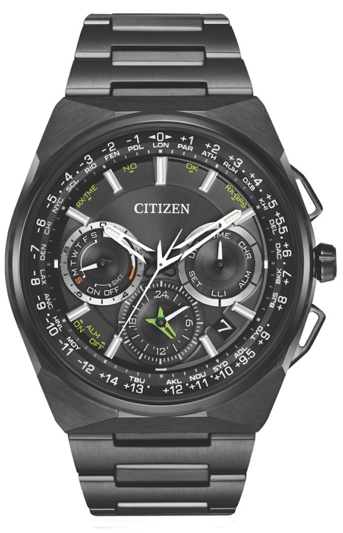 Citizen's Eco-Drive Satellite Wave F900