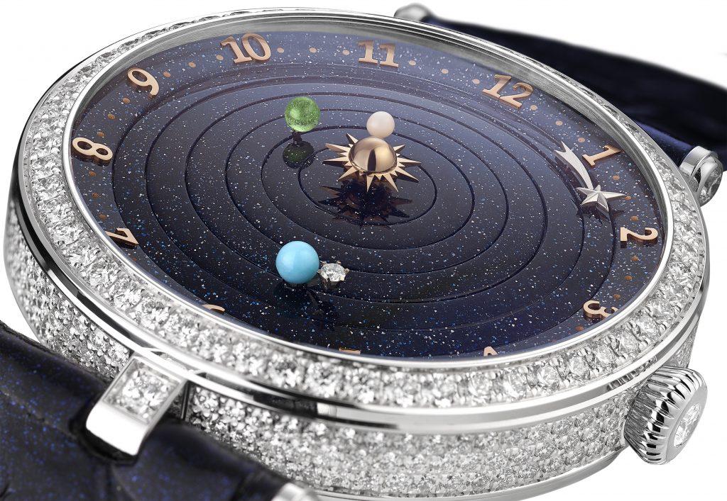Van Cleef & Arpels Lady Arpels Planetarium watch.