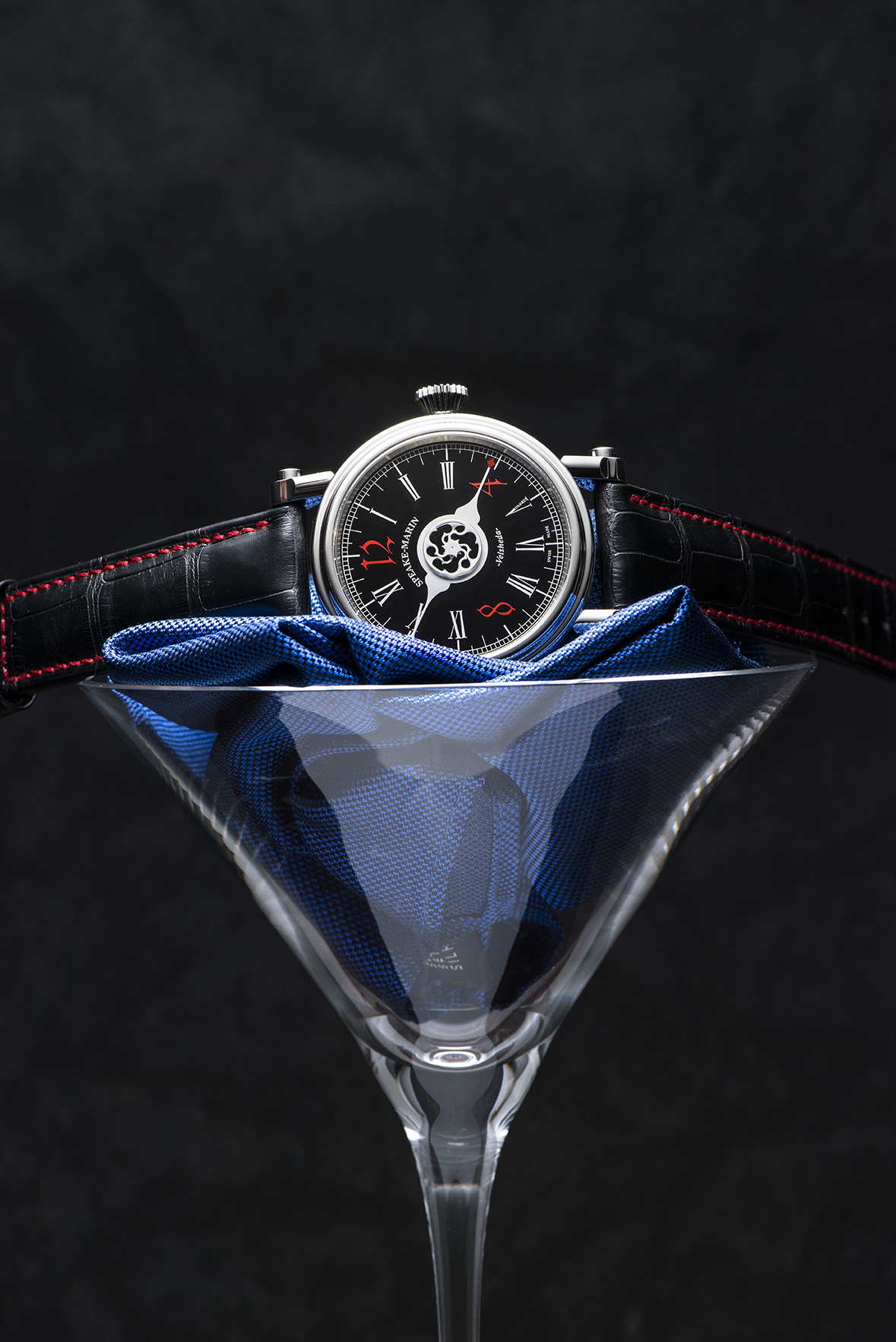 Speake-Marin's Valsheda Gothic Black watch.
