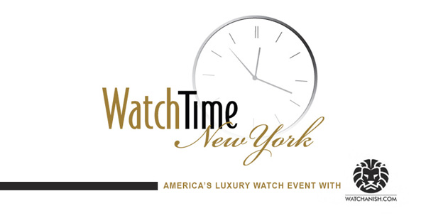 WatchTime New York 2017 is being held at Gotham Hall October 13-14.